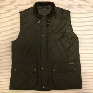 Polo RL Quilted Down Vest
